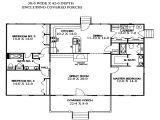 Three Level Split House Plans Split Level Home Floor Plans House Plans with Split