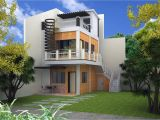 Three Story Home Plans Imagined 2 Storey Modern House Plans Modern House Plan