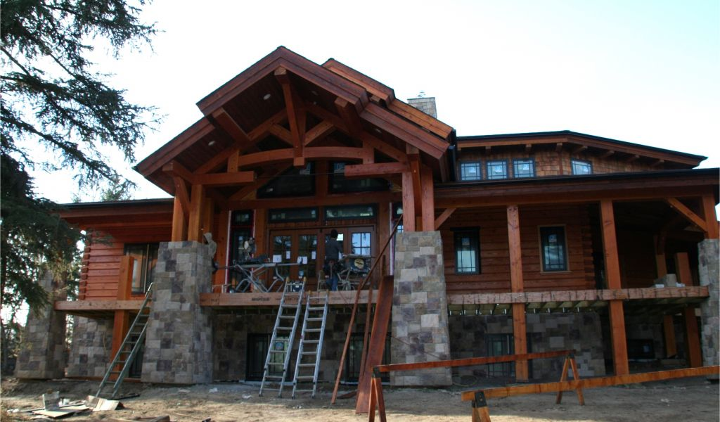 Enjoyable Timber Frame Home Plans Price Log Homes Prices And Plans Home Interior And Landscaping Elinuenasavecom