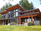 Timberframe Home Plans A Signature West Coast Contemporary Design This Modern