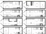 Tiny Home Designs Floor Plans Cargo Container Home Plans In 20 Foot Shipping Container