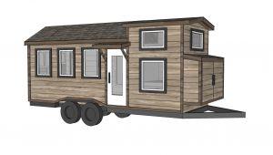 Tiny Home Designs Plans Ana White Free Tiny House Plans Quartz Model with