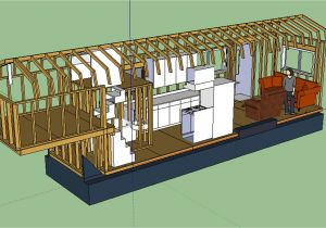 Tiny Home On Trailer Plans the Updated Layout Tiny House Fat Crunchy