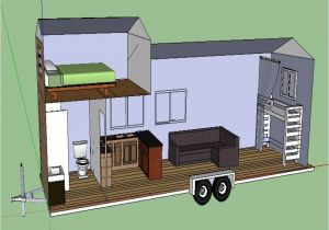 Tiny Home On Trailer Plans Tiny House Trailer Plans Free Modern House Plan Modern