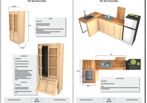 Tiny Home On Trailer Plans Tiny Tack House Plans the Tiny Tack House