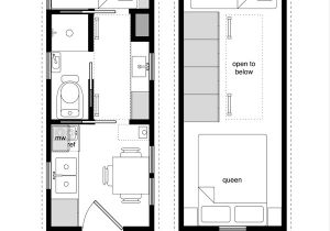 Tiny Home Plan A Sample From the Book Tiny House Floor Plans 8×20 Tiny