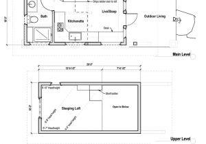 Tiny Home Plans Pdf Small House Plans with Loft Smalltowndjs Com