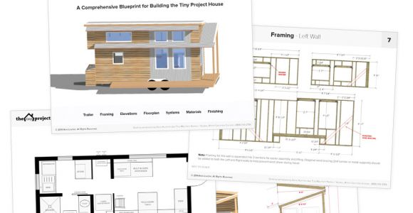 Tiny Home Plans Pdf Tiny House On Wheels Floor Plans Pdf for Construction
