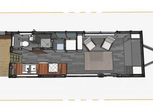 Tiny Home Plans Trailer Bumper Pull Style Minimotives Minimotives