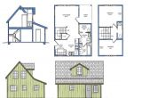 Tiny Home Plans with Loft Small Courtyard House Plans Small House Plans with Loft