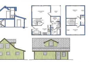 Tiny Home Plans with Loft Small House Plans with Loft Small Cabin Plan with Loft