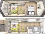 Tiny Homes On Wheels Floor Plans though Not originally Created as A Home On Wheels This