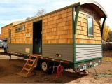 Tiny House Plans for 5th Wheel Trailer Refreshing Tiny House is Built Using Gooseneck Trailer