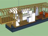 Tiny House Plans for 5th Wheel Trailer the Updated Layout Tiny House Fat Crunchy