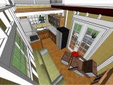 Tiny House Plans On Wheels with Loft Tiny Home On Wheels Full Kitchen Double Sleeping Lofts