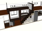 Tiny House Plans On Wheels with Loft Tiny House Plans Home Architectural Plans