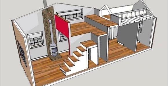 Tiny House Plans Under 300 Sq Ft 300 Sq Ft 10 39 X 30 39 Tiny House Design