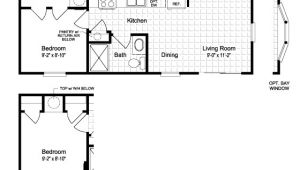 Tiny Mobile Home Floor Plans Small Mobile Home Floor Plans