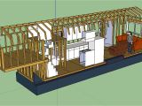 Tiny Trailer Home Plans the Updated Layout Tiny House Fat Crunchy