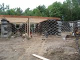 Tire House Plans Rammed Earth Home Designs Cronk Earthship Tire House