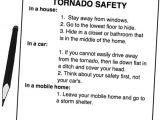 Tornado Plan for Home tornado Safety Plan Evacuation Kit Supplies