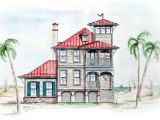 Tower Home Plans Beach House with tower Lookout 15725ge Architectural