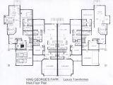 Town Home Floor Plans 26 Decorative Luxury townhouse Plans Building Plans