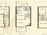 Town Home Plans 4 Bedroom Apartment Floor Plans townhome Building Floor