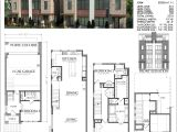 Town Home Plans Duplex townhome Plan E2028 A1 1 Small Modern House