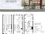Town Home Plans the Savannah Nashville townhouses Germantown 4thandm