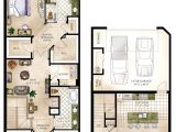Town Home Plans townhomes Floorplans Floor Plans