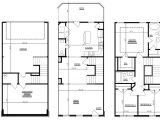 Townhouse Home Plans Bedroom townhouse Floor Plans Garage Story Kelsey Bass