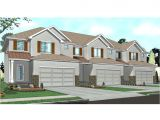 Townhouse Home Plans townhouse Floor Plans 1 Story townhouse with Garage Plans