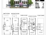 Townhouse Home Plans townhouse Plans Modern House Amazing 2 Story Floor 3