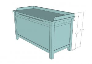 Toy Box Plans Home Depot Ana White Build A Simple Modern toy Box with Lid Free