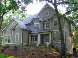 Traditional Craftsman Home Plan Front Elevation Houses with Porch Joy Studio Design