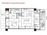 Traditional Japanese Home Floor Plan Japanese House Plan Traditional Floor Modern Plans
