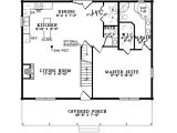 Traditional Log Home Floor Plan Holbein Traditional Log Home Plan 073d 0051 House Plans
