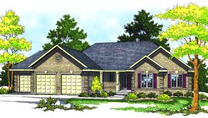 Traditional Ranch Style Home Plans Traditional Ranch Style Home Plan 89130ah