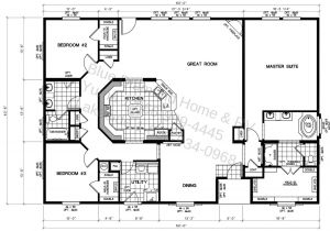 Trailer Home Floor Plans Triple Wide Manufactured Home Floor Plans Lock You