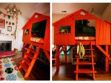 Tree House Bunk Bed Plans Stay at Home who Out with the Old Diy the New