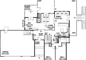 Tri Level Home Plans Tri Level Home Plans Smalltowndjs Com