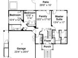 Tri Level Home Plans Tri Level House Plan with Loft Overlook 72197da