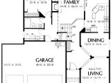 Tri Level Home Plans Tri Level Narrow Lot Plan 69373am Architectural