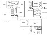 Tri Level Homes Plans Tri Level House Floor Plans 20 Photo Gallery House Plans