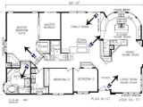 Triple Wide Manufactured Home Floor Plans Triple Wide Mobile Home Floor Plans Triple Wide
