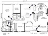 Triple Wide Manufactured Home Plans Amazing Triple Wide Mobile Home Floor Plans New Home