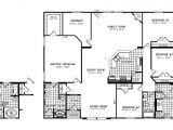 Triple Wide Manufactured Home Plans Manufactured Home Floor Plan Clayton Triple Wide Updated