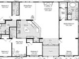 Triple Wide Manufactured Home Plans Mobile Home Floor Plans Triple Wide Bestofhouse Net 27818
