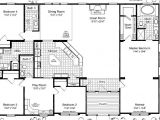 Triple Wide Manufactured Homes Floor Plans Triple Wide Mobile Home Floor Plans Las Brisas Floorplan